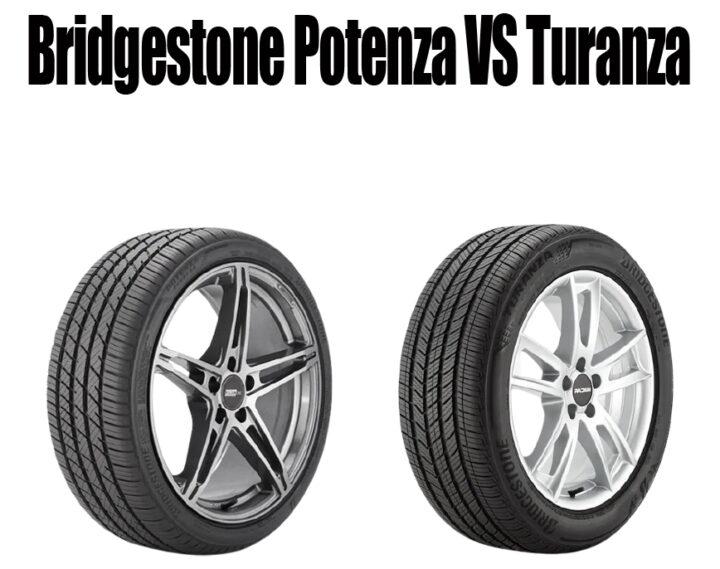 Bridgestone Potenza vs Turanza