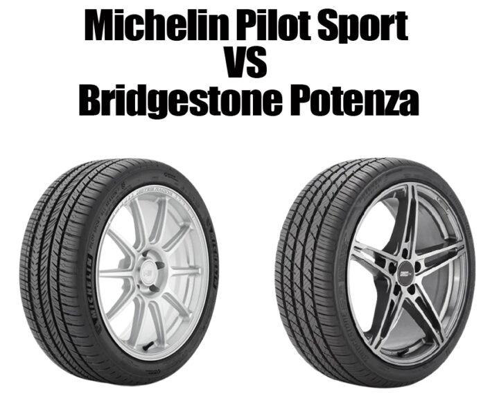 Michelin Pilot Sport vs Bridgestone Potenza