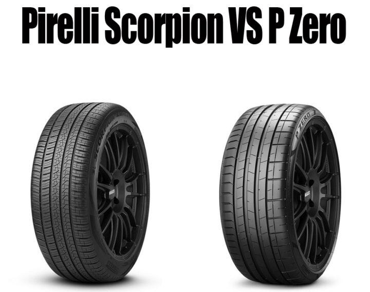 Pirelli Scorpion vs P Zero