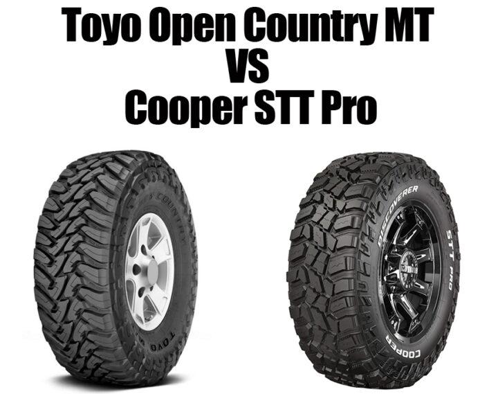 Toyo Open Country MT vs Cooper STT Pro