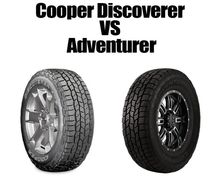Cooper Discoverer Vs Adventurer