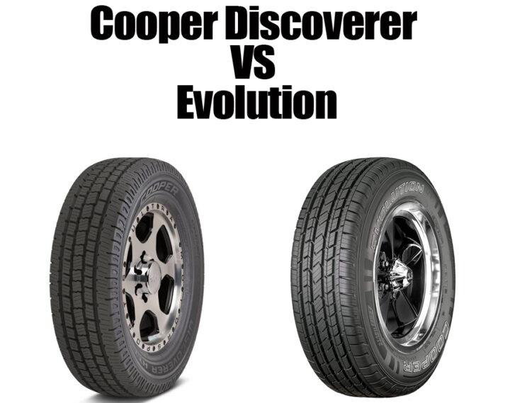 Cooper Discoverer Vs Evolution