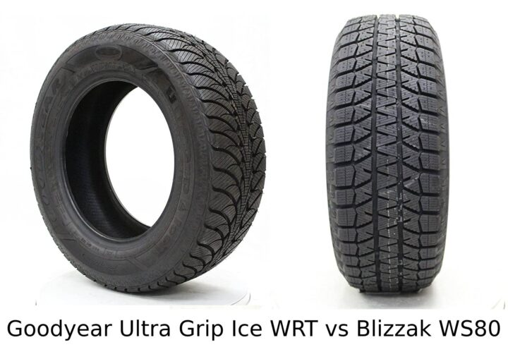 Goodyear Ultra Grip Ice WRT vs Blizzak WS80