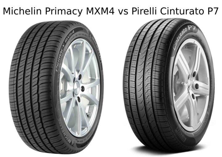Michelin Primacy MXM4 vs Pirelli Cinturato P7