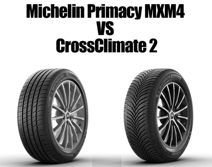 Michelin Primacy MXM4 vs Crossclimate 2